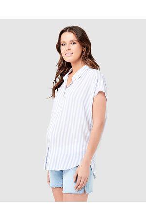Ripe Maternity Quinn Relaxed Shirt - Casual shirts ( / ) Quinn Relaxed Shirt
