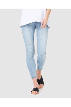 Ripe Maternity Rebel Ankle Grazer Jeggings - Jeans (Pale ) Rebel Ankle Grazer Jeggings