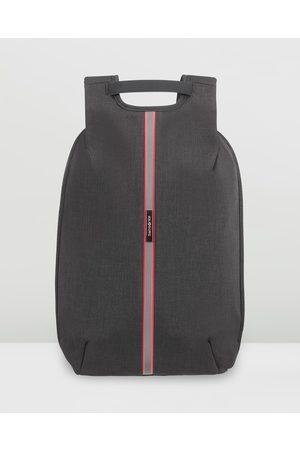 """Samsonite Securipak S Laptop Backpack 14.1"""" - Bags ( Steel) Securipak S Laptop Backpack 14.1"""""""