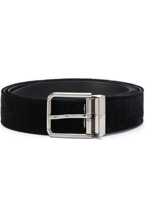 Dolce & Gabbana Velvet buckle belt