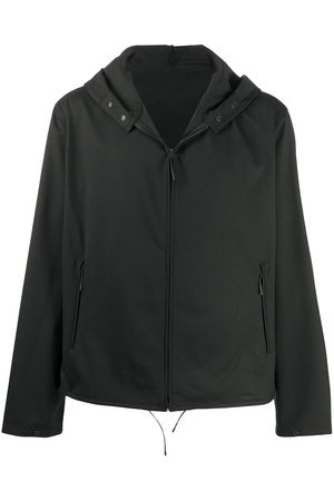 Y-3 Hooded zipped jacket