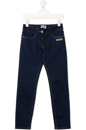 Moschino Teddy bear-print jeans