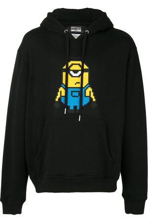 MOSTLY HEARD RARELY SEEN X Minions Stuart 8-Bit appliqué hoodie
