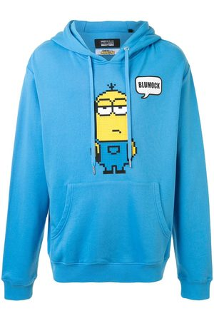 MOSTLY HEARD RARELY SEEN Low-poly Minion hoodie