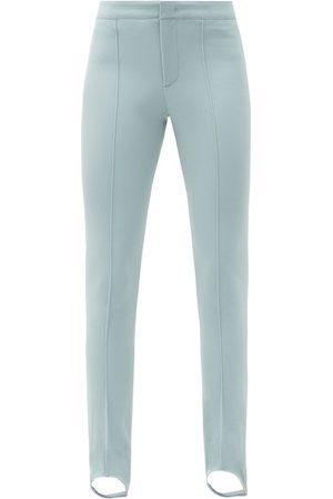 Moncler Stirrup Slim-leg Ski Trousers - Womens - Light