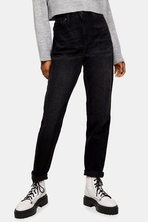 Topshop Mom Jeans - Slim (Worn ) Mom Jeans