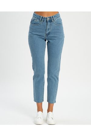Calli Luna Relaxed Jeans - High-Waisted (Classic ) Luna Relaxed Jeans