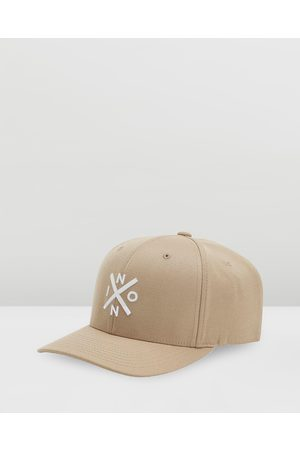 Nixon Exchange Flex Fit Cap - Headwear (Khaki & ) Exchange Flex Fit Cap