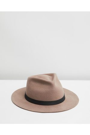 Billy Bones Club The Chief Tan Fedora - Hats (Tan) The Chief Tan Fedora