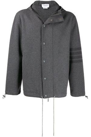 Thom Browne 4-Bar hooded sport coat