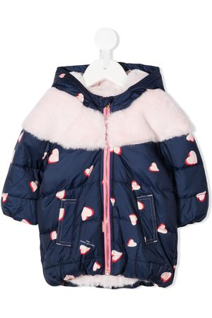 Marc Jacobs Heart-print padded coat