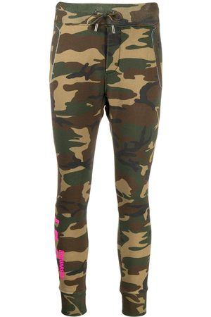 Dsquared2 Women Joggers - Camouflage print track pants