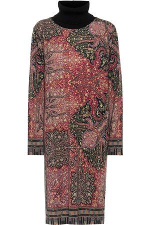 Etro Paisley wool midi dress