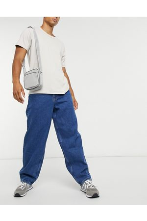ASOS Ultra baggy jeans in mid wash blue