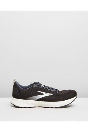 Brooks Revel 4 Men's - Outdoor Shoes ( , Oyster & ) Revel 4 - Men's