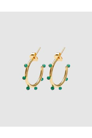 Dear Addison Delta Hoops - Jewellery Delta Hoops