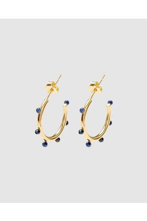 Dear Addison Delta Hoops - Jewellery Delta Hoops