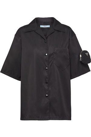 Prada Logo-pouch shirt
