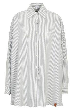 Loewe Stripe bat sleeve shirt