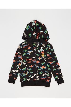 Rock Your Kid ICONIC EXCLUSIVE Game Over Hooded Jacket Kids - Hoodies ICONIC EXCLUSIVE - Game Over Hooded Jacket - Kids