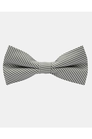 Buckle Vintage Dogtooth Bow Tie - Ties & Cufflinks (Dogtooth) Vintage Dogtooth Bow Tie