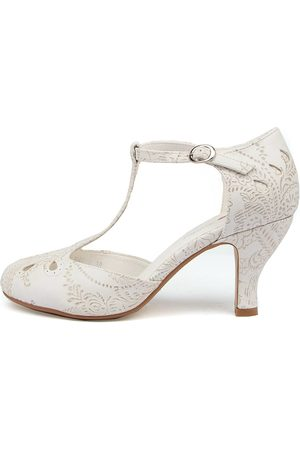 I LOVE BILLY Marie Lace Shoes Womens Shoes Casual Heeled Shoes