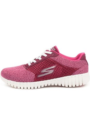 Skechers 16704 Go Walk Smart Influ Sk Raspberry Sneakers Womens Shoes Casual Casual Sneakers