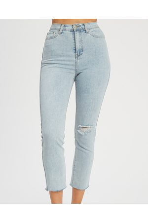 The Fated Pia Denim Jeans - High-Waisted (Light Wash) Pia Denim Jeans