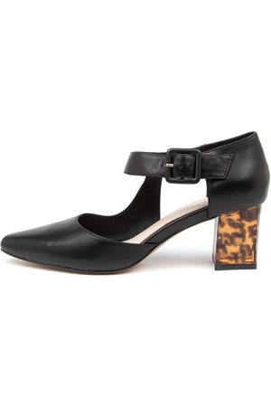 Django & Juliette Happie Dj Leopard Heel Shoes Womens Shoes Dress Heeled Shoes