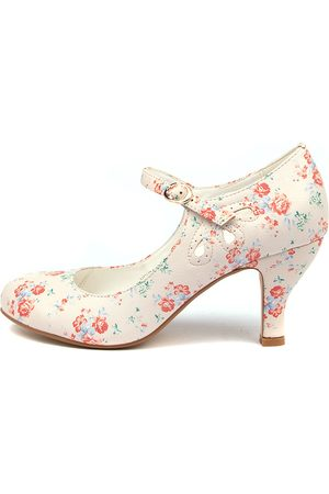 I LOVE BILLY Mendy Ditzy Floral Shoes Womens Shoes Dress Heeled Shoes