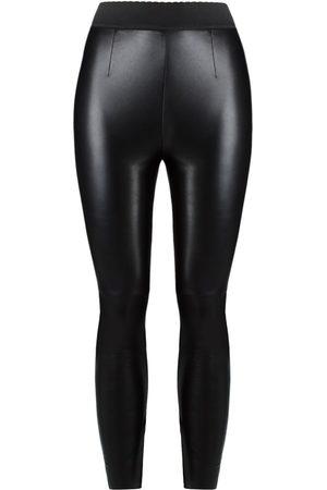 Dolce & Gabbana Women Leggings - Leather leggings