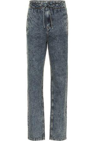 Isabel Marant Uduard high-rise straight jeans