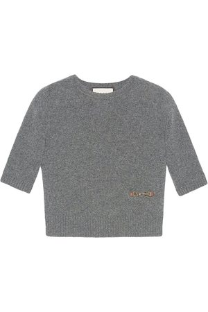Gucci Women Tops - Horsebit-embellished knitted top