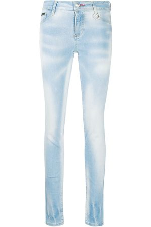 Philipp Plein High rise skinny fit jeggings