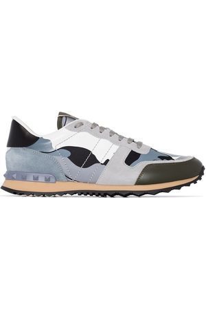 VALENTINO GARAVANI Rock Runner leather sneakers