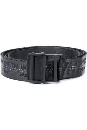 OFF-WHITE Men Belts - Jacquard logo Industrial belt