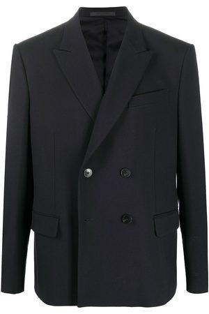 VALENTINO Men Blazers - Double-breasted long-sleeve blazer