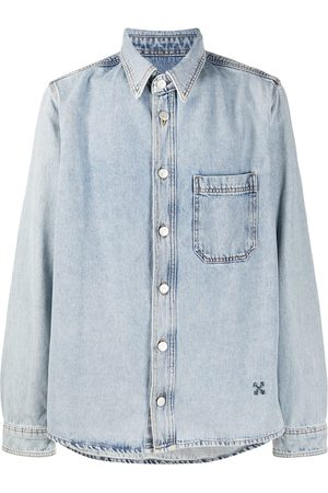 OFF-WHITE Arrows-motif denim shirt