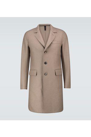 Harris Wharf London New Chester virgin wool coat