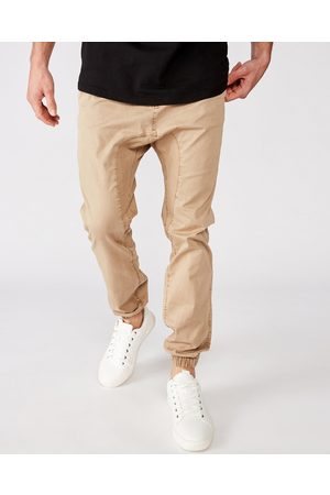 Cotton On Drake Cuffed Pants - Pants (Washed Stone) Drake Cuffed Pants