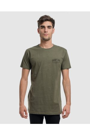 DVNT Bailey Tee - T-Shirts & Singlets (OLIVE) Bailey Tee