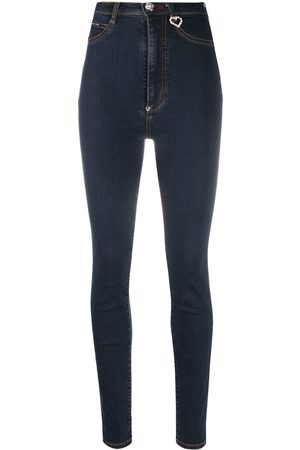 Philipp Plein Super high rise jeggings