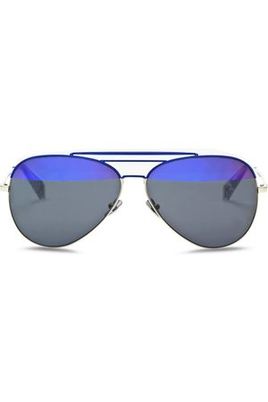 HAZE COLLECTION Raze' coated metal aviator sunglasses
