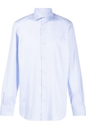 BARBA Men Shirts - Spread collar shirt