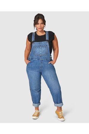 Indigo Tonic Hailey Denim Overalls - Jumpsuits & Playsuits Hailey Denim Overalls