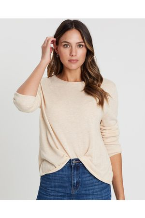 White By FTL Amy Sweater - Jumpers & Cardigans (Almond) Amy Sweater