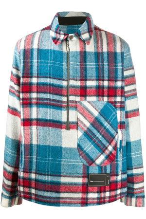 We11 Done Men Casual - Checked-print shirt jacket