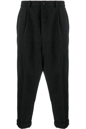 Ami Men Pants - Cropped straight-leg trousers