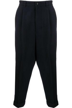 Ami Men Pants - Oversized carrot fit trousers