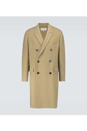 Loewe Double-breasted wool-blend coat
